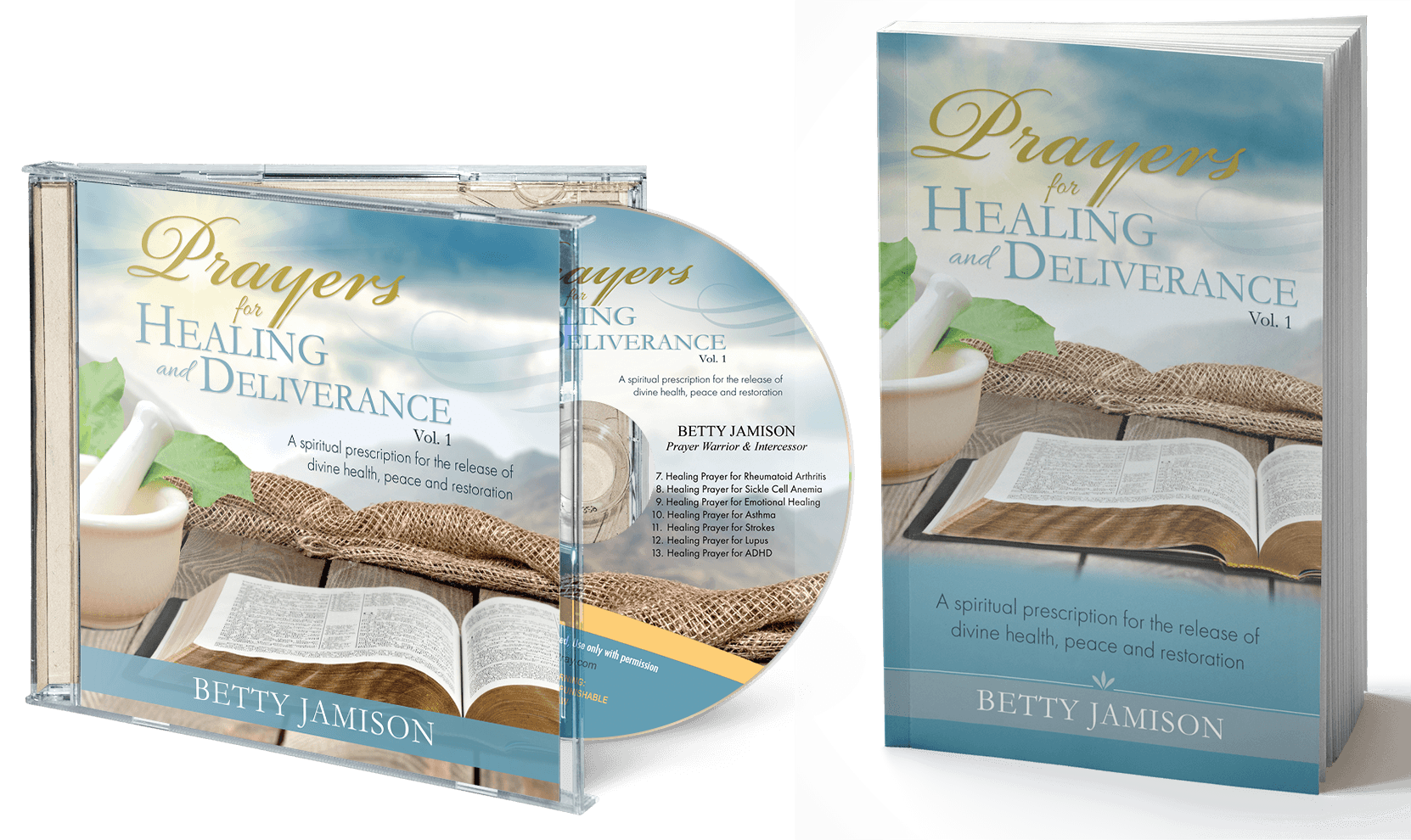 Prayers for Healing and Deliverance CD & Book
